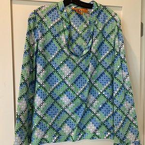 Cute embellished Tory Burch Blouse/Tunic